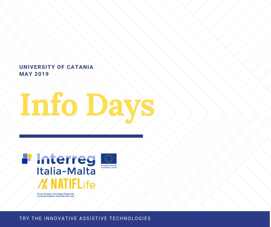 Info days NATIFLife May 2019